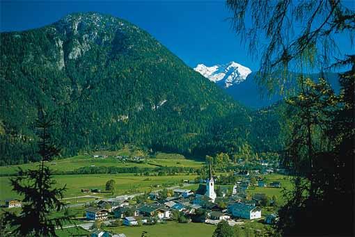 Lofer im Bezirk Pinzgau im Salzburger Land