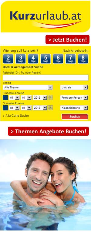 Thermenurlaub in Österreich buchen