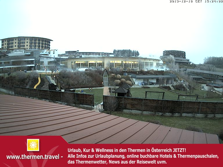 Therme Stegersbach Webcam Reiters Familientherme